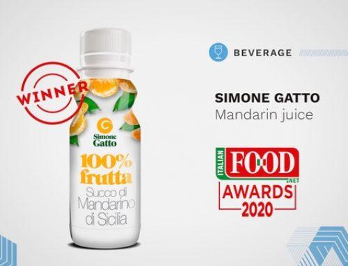 Simone Gatto vince all'Italian Food Awards 2020